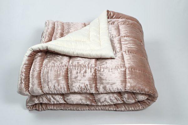 купить Одеяло Penelope - Anatolian pembe хлопковое Коричневый фото