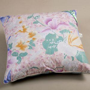 купить Перьевая подушка Эко Пух розовая Розовый фото