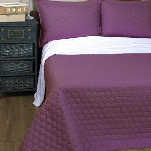 Покрывало Lotus Broadway – Comb фиолетовый