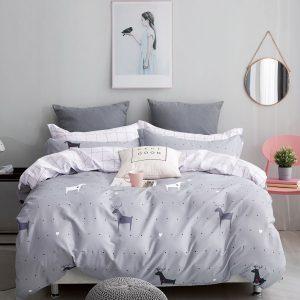 купить Постельное белье Bella Villa Сатин B-0205 Серый фото