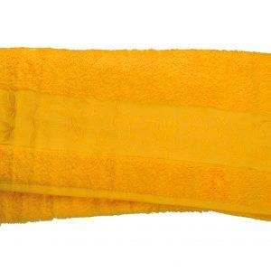купить Махровое полотенце ТМ Hanibaba бамбук желтый