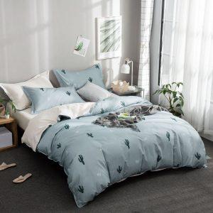 купить Постельное белье Bella Villa Сатин B-0225 Голубой фото