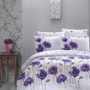Постельное белье First Choice De Luxe ранфорс bozca lila