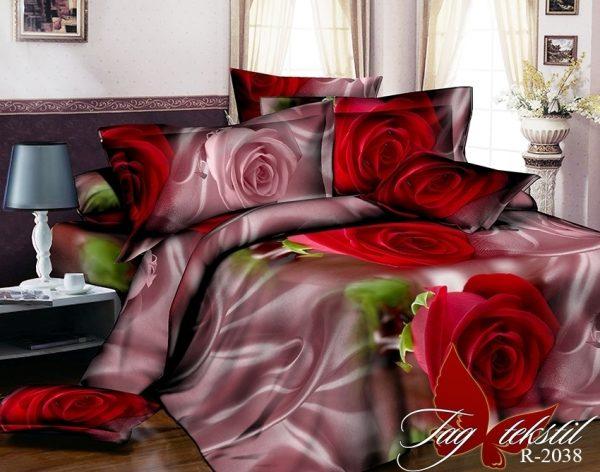 купить Постельное белье TAG R2038 Бордовый фото