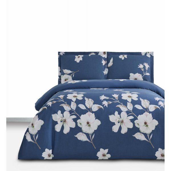 купить Постельное белье Arya Simple Living Rowan Синий фото