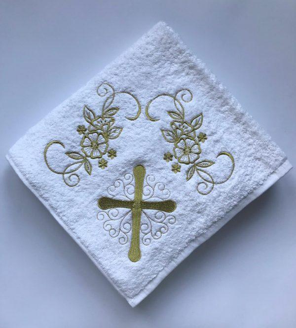 купить Крыжма для крещения Sikel золото