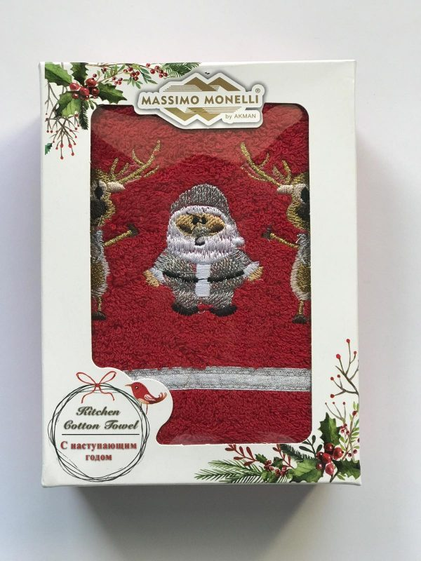 купить Кухонное полотенце Massimo Monelli Серебристый Санта