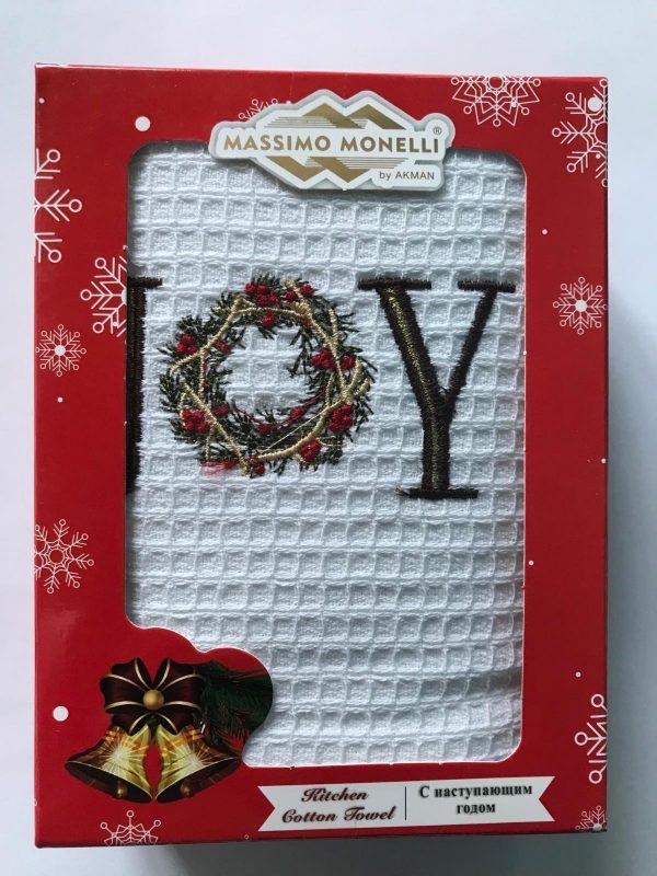 купить Кухонное полотенце Massimo Monelli вафельное Joy