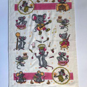 купить Кухонное полотенце Melih Мышка горчичное