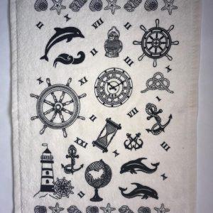 купить Кухонное полотенце Melih махра Marine items