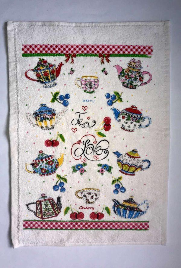 купить Кухонное полотенце Melih махра Tea Love
