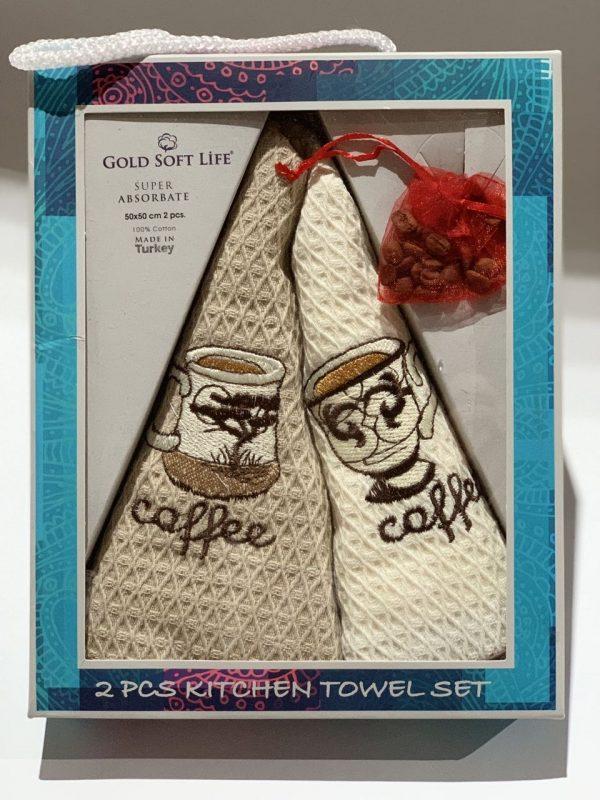 купить Набор кухонных полотенец Gold Soft Life La Rita V02 2 шт
