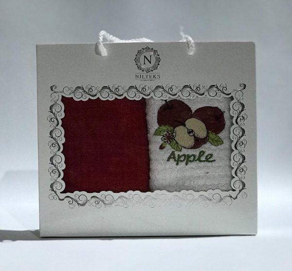 купить Набор кухонных полотенец Nilteks махровые Apple 2 шт