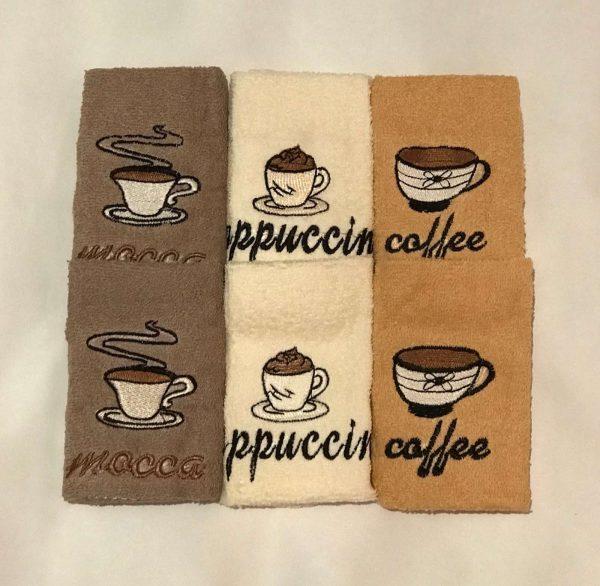 купить Набор кухонных полотенец Sikel Coffee PVC V1 6 шт