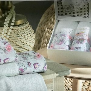 купить Набор махровых полотенец Do & Co Гвоздика 3 шт