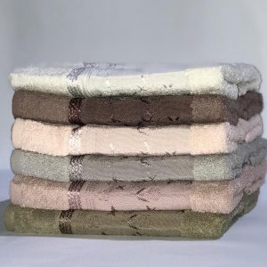 купить Набор махровых полотенец Miss Cotton хлопок Птицы 6 шт