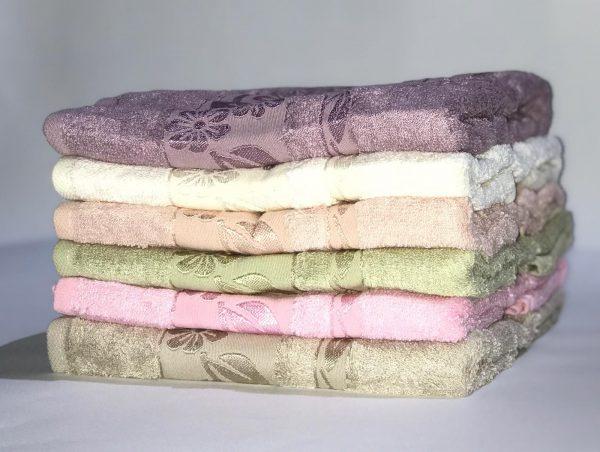 купить Набор махровых полотенец Miss Cotton Bamboo Flowers 6 шт