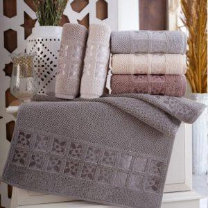 купить Набор махровых полотенец Sikel жаккард Twoel 6 шт