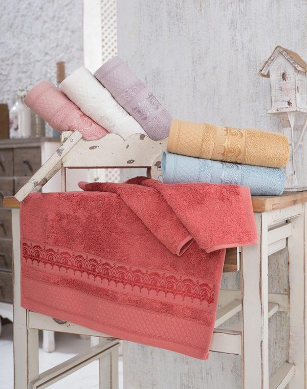 купить Набор махровых полотенец Sikel Bamboo Azuz 6 шт