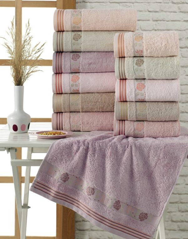купить Набор махровых полотенец Sikel Bamboo Bahar 6 шт