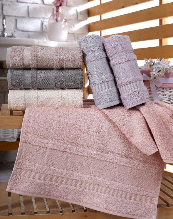 купить Набор махровых полотенец Sikel Bamboo Ekinos 6 шт
