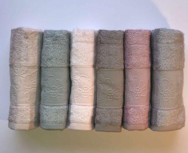 купить Набор махровых полотенец Sikel Bamboo Flowers 6 шт