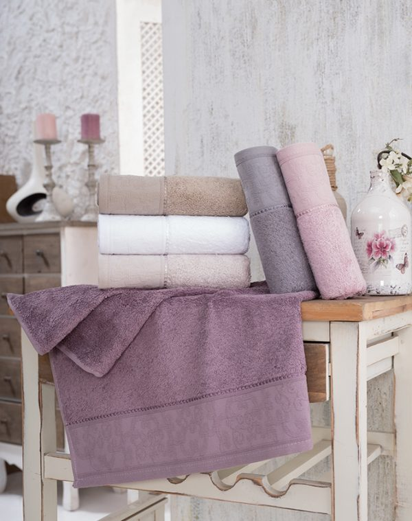 купить Набор махровых полотенец Sikel Bamboo Golge 6 шт