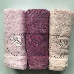 купить Набор махровых полотенец Sikel Bamboo Lady 3 шт