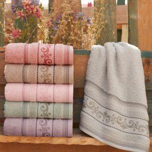 купить Набор махровых полотенец Sikel Cotton Flamengo 6 шт