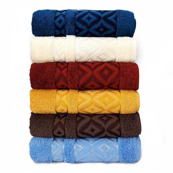 купить Набор махровых полотенец Sikel Cotton Prizma 6 шт