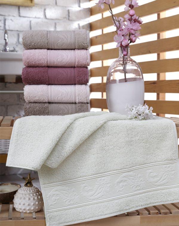 купить Набор махровых полотенец Sikel Cotton Ribella 6 шт