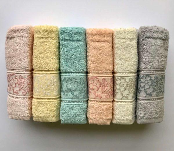 купить Набор махровых полотенец Sikel Cotton Selen 6 шт