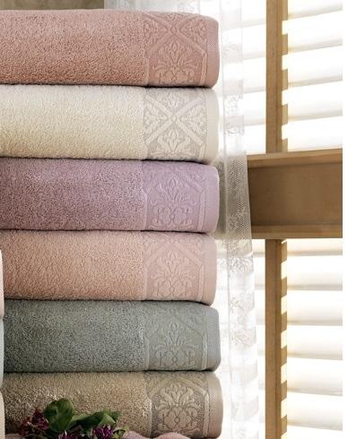 купить Набор махровых полотенец Sikel Cotton Sonil 6 шт