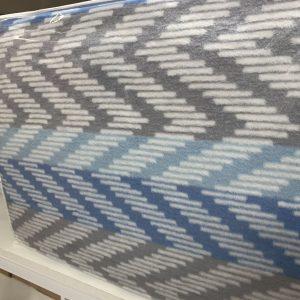 купить Плед TAC Cotton Battaniye Capri голубой