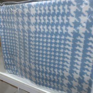 купить Плед TAC Cotton Battaniye Romy голубой