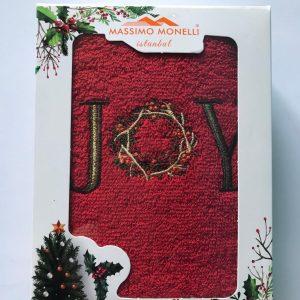 купить Полотенце Massimo Monelli Joy красное