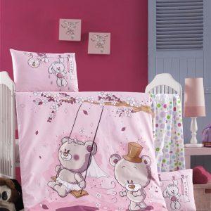 купить Постельное белье для младенцев Victoria Ранфорс Pink Dream Розовый фото