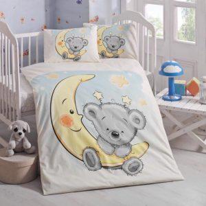 купить Постельное белье для младенцев Victoria Ранфорс Pitircik Голубой фото
