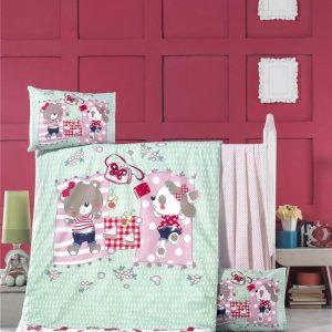 купить Постельное белье для младенцев Victoria Ранфорс Sleepy Розовый фото