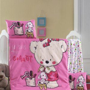 купить Постельное белье для младенцев Victoria Ранфорс Sweet Розовый фото