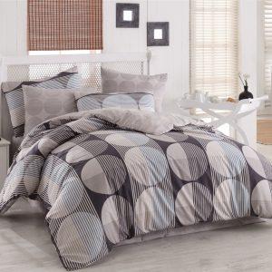 купить Постельное белье Zugo Home ранфорс Zara V7 Серый фото