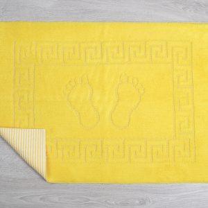 купить Коврик для ванной Lotus желтый