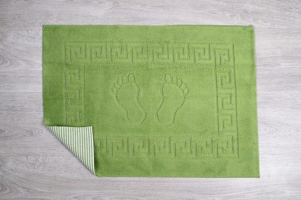 купить Коврик для ванной Lotus зеленый
