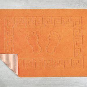 купить Коврик для ванной Lotus оранжевый