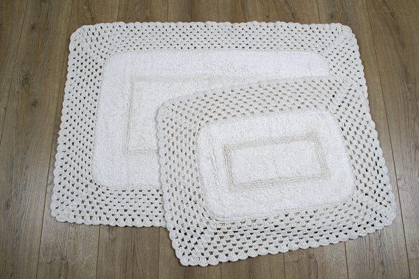 купить Набор ковриков Irya - Lizz krem