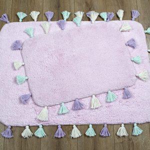 купить Набор ковриков Irya - Lucca pembe