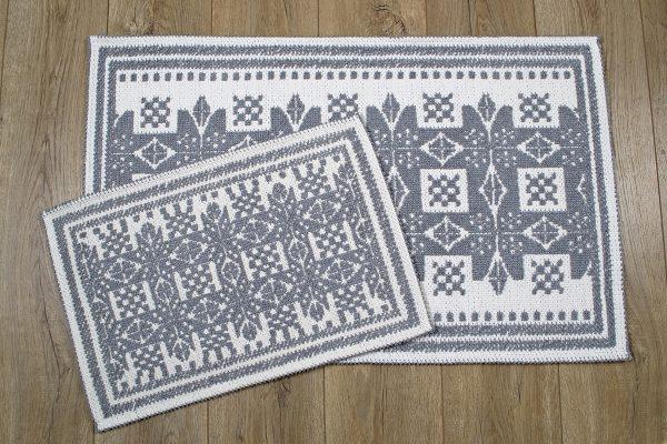купить Набор ковриков Irya - Palmed gri