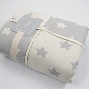 купить Плед микроплюш Barine Star Patchwork throw grey