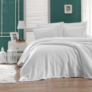 купить Покрывало пике Enlora Home Casuel beyaz