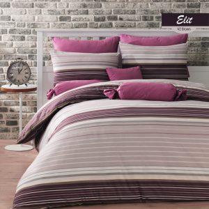 купить Комплект постельного белья Zugo Home ранфорс Elit V2 Фиолетовый фото